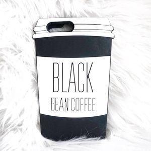 Other - Black Coffee - Black iPhone 6 Case